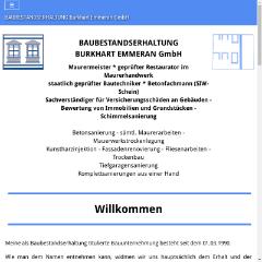 BAUBESTANDSERHALTUNG Emmeran Burkhart - Maurermeister _ geprüfter Restaurator im Maurerhandwerk staatlich geprüfter Bautechniker _ Betonfachmann