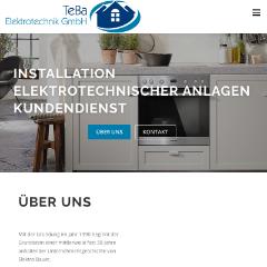 TeBa Elektrotechnik Installation Elektrotechnischer Anlagen und Kundendienst